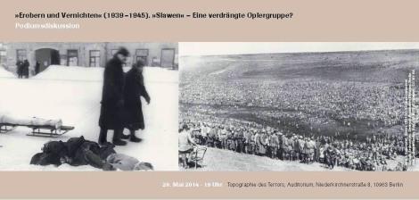 """Podiumsdiskussion: """"Slawen"""" als verdrängte Opfergruppe?"""
