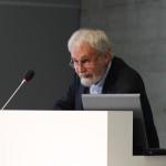 Peter Jahn bei seinem Eingangsreferat in der Topographie des Terrors