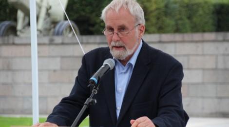 Peter Jahn während der Gedenklesung am Tag des offenen Denkmals