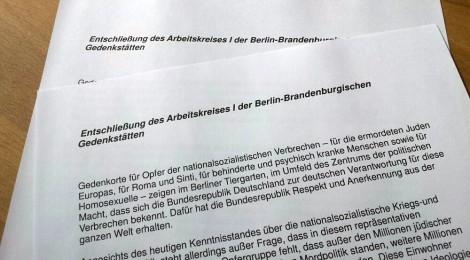 Arbeitskreis der NS-Gedenkstätten fordert Gedenkort für Opfer der Vernichtungspolitik
