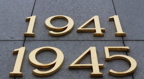 Inschrift am Sowjetischen Ehrenmal im Berliner Tiergarten