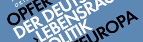"""Vortrag zu historischen Grundlagen der NS-""""Lebensraum""""-Ideologie am 8. Juli"""