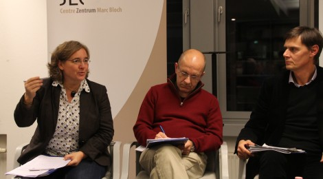 Dr. Sabine Rutar, Dr. Xavier Bougarel und Prof. Dr. Hannes Grandits