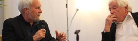 Herausgeber Dr. Peter Jahn im Gespräch mit Prof. Dr. Wolfgang Benz