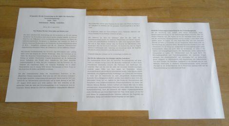 Eckpunkte für die Erinnerung an die Opfer des deutschen Vernichtungskriegs 1939-1945