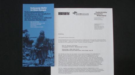 Vortrag: Krieg gegen die Dörfer. »Bandenkampf« in Polen